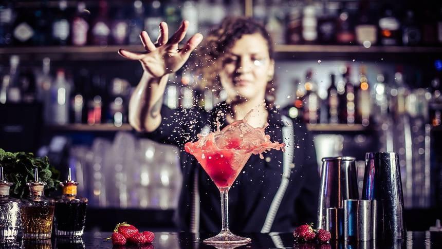 hire a female bartender